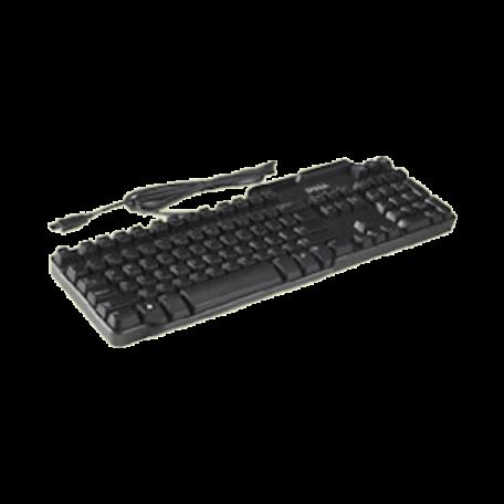 Dell 0KW240 USB-toetsenbord (US/INT, Smartcard lezer, Zwart)