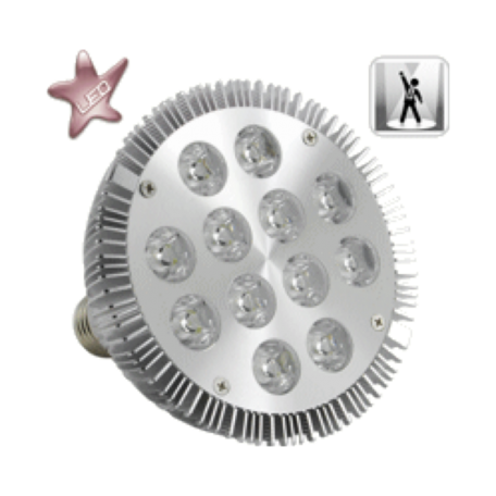 OEM LEDLIGHT-12W 12W LED-spotlight (E27-fitting, 5000K, 720 lumen)