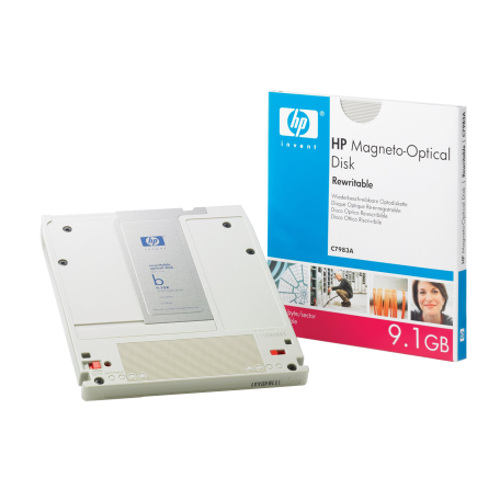 HP C7983A Rewritable Magneto-optical Disk, 9.1GB