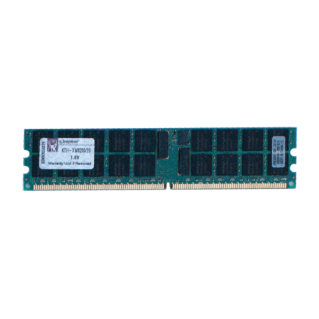 Kingston KTH-MLG4/4G 4GB DDR2 PC2-3200R Dual-Rank DIMM-kit (2x 2GB)