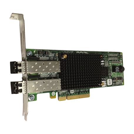 Emulex LightPulse LPe12002 8Gb/s LP PCIe x8 Dual Channel Host Bus Adapter