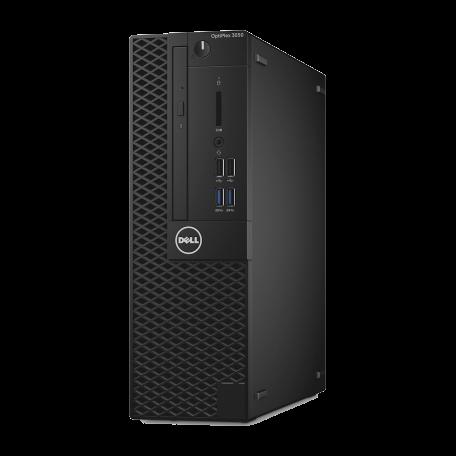 Dell Optiplex 3050 SFF i5-7500 2.4GHz, 8GB DDR4/256GB SSD+500GB HD, 4xUSB3.1, HDMI+DP+VGA, Win10 Pro
