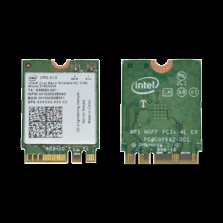 Intel 3160NGW Dual-Band AC 3160 (802.11ac, 1x1, BT4.0, M.2 2230)