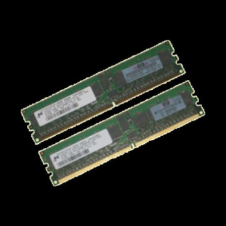 HP 343055-B21 1GB DDR2 PC2-3200R Single-Rank DIMM-kit (2x 512MB)