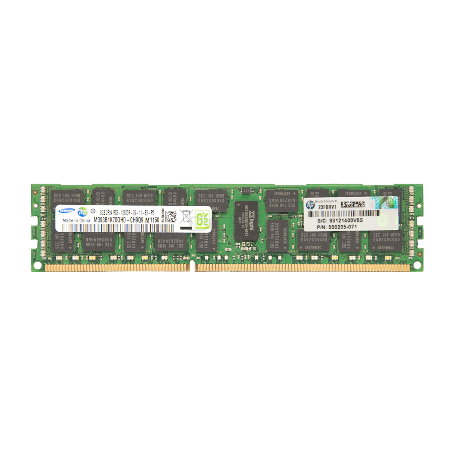 HP 500205-071 8GB DDR3-1333 PC3-10600R 2Rx4 CL9 Reg ECC DIMM