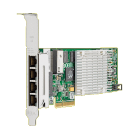 HP 538696-B21 NC375T 4-port PCI-Express x4 Gigabit Ethernet Server Adapter (Full-Height)