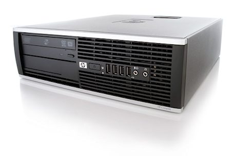 HP 6000 Pro SFF Core2Duo 2.93GHz 4GB RAM/250GB HDD, DVDRW, Gigabit LAN, 10x USB2.0, Win 7 Pro