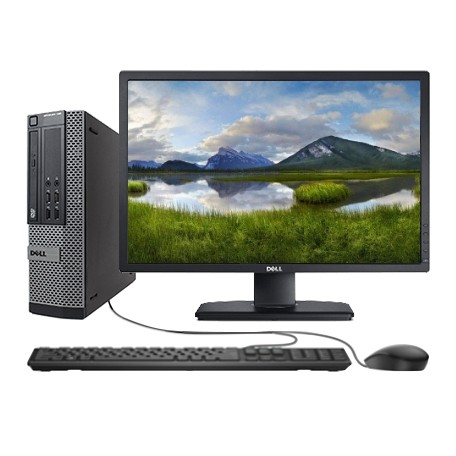 Dell Optiplex 7010 SFF SET Core i5-3570, 8GB/120GB SSD, DVD, Win 10 Home + 24