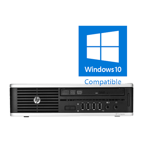HP Elite 8000 USDT Core2Duo 3.16GHz, 4GB DDR3/500GB HDD, DVDRW, Gbit, 10x USB2.0, Win 10 Home