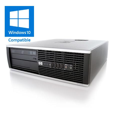 HP Elite 8300 SFF Core i7-3770 3.4GHz, 8GB DDR3/120GB SSD+500GB HD, DVDRW, Gigabit, USB3.0, W10 Pro