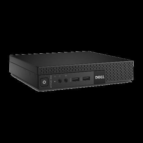 Dell Optiplex 9020M Core i3-4150T 3.0GHz, 8GB DDR3/128GB SSD, 6x USB3.0, DisplayPort+VGA, Win 10 Pro