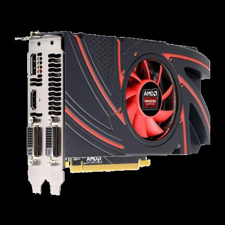 AMD Radeon R9 270 PCI-Express 3.0 x16 Full-Height (2GB GDDR5, 256-bit, DP+HDMI+2x DVI, DirectX 12)