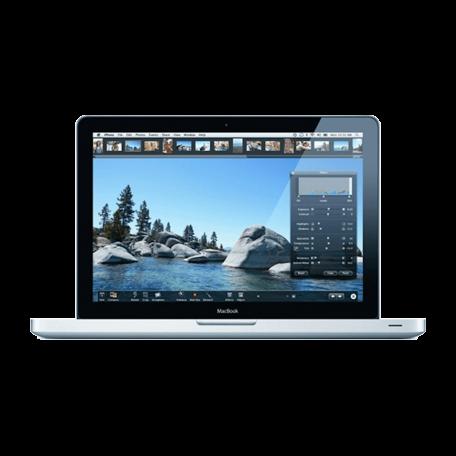 Apple MacBook 5,1 13 inch Core2Duo 2.4GHz, 8GB RAM/120GB SSD, 1280x800, GF9400M, OS X El Capitan