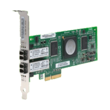 Qlogic QLE2462 Dual-Port, PCIe x4 4Gbps Fibre Channel HBA