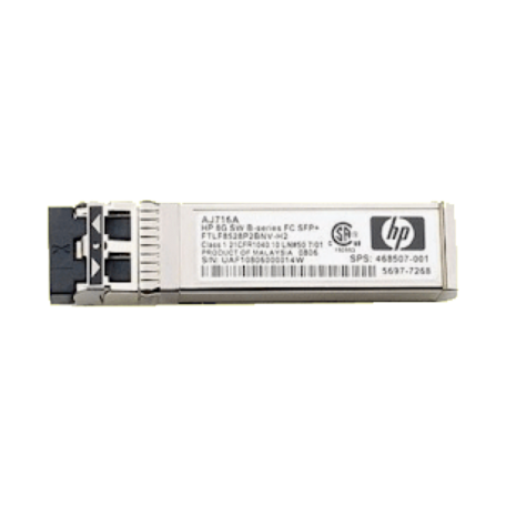 HP AJ716A B-series 8.5Gbps Shortwave Fibre Channel SFP+