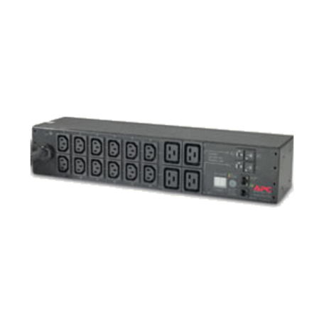 APC AP7922 Rack PDU, Switched, 2U, 32A/230V 16x C13 uitgangen