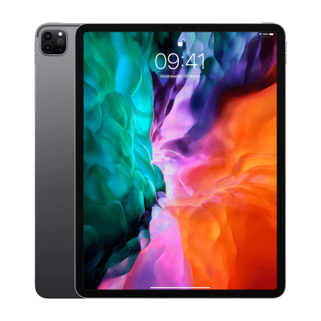 Apple iPad Pro (2020) 12,9-inch Wi-Fi/1TB, 2732x2048 resolutie, IPadOS 14, Grijs (MXAX2NF/A)
