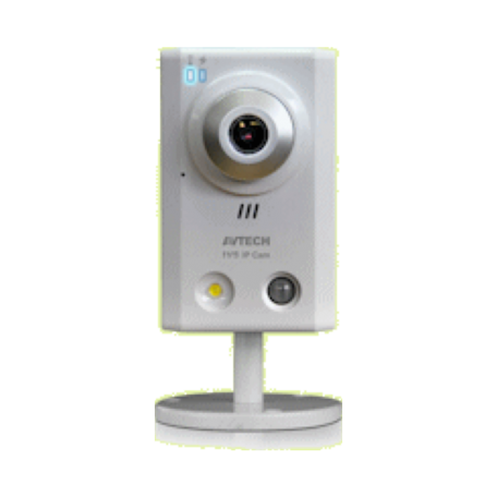 AVTECH AVN80X Megapixel HD IP-camera (W/ONVIF, White LED, HDS)