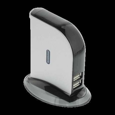Bandridge BCP4107EC 7-poorts USB 2.0 HUB inclusief voeding