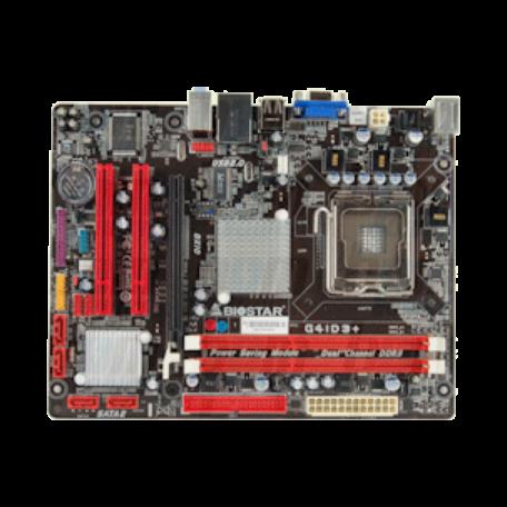 Biostar G41D3+ S-775 iG41 (uATX, PCIe, VGA, LAN, DDR3, FSB1333)