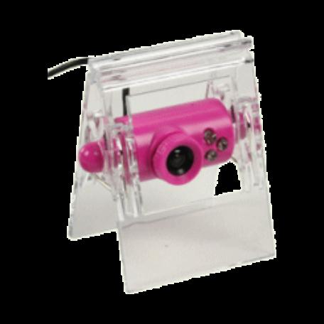 basicXL BXL-WEBCAM2PI USB2.0 webcam met clip (640x480, 30fps, roze)