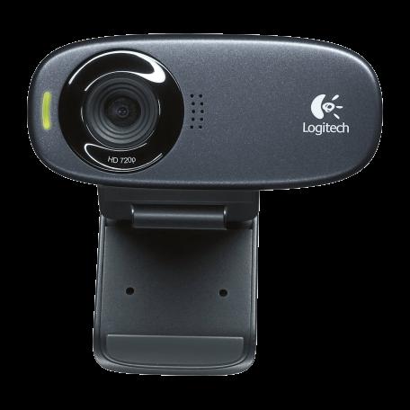 Logitech 960-000586 C310 HD Webcam voor breedbeeld videogesprekken (720p/30fps)