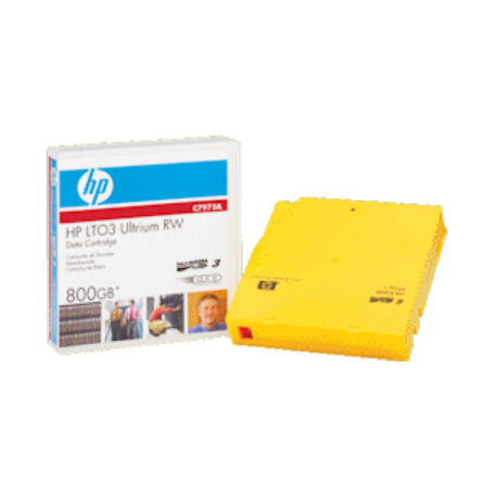 HP C7973A LTO-3 Ultrium RW Data-Cartridge 800B