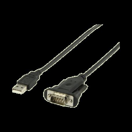 König CABLE-146/2 USB 2.0 naar serieel (DB9) verloopkabel