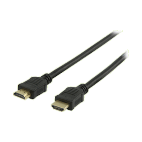 Valueline VLVP34000B05 High-Speed HDMI 1.4 kabel + Ethernet 0.5M (Zwart)