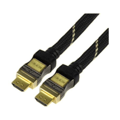 König CABLE-5570-1.5 Professionele HDMI-kabel (1.5M verguld, HDMI 1.3c)