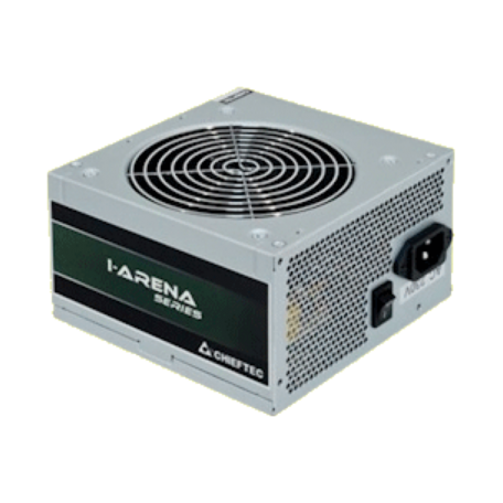 Chieftec i-ARENA GPA-500B8 Low-Noise ATX-voeding (500W, 6+2p PCI-E, 3x sATA)