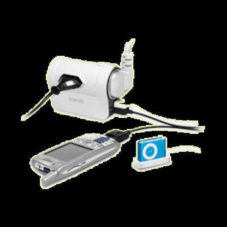 König CMP-POWG50 Reis verdeeldoos 1x Schuko/2x Euro + 2x USB