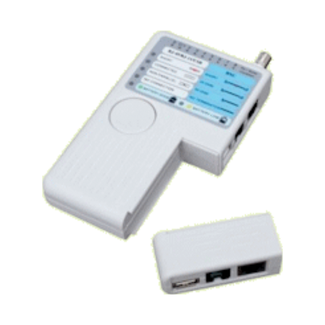 König CMP-RCT1 LAN & Communicatie tester (RJ11, RJ45, USB & Coax)