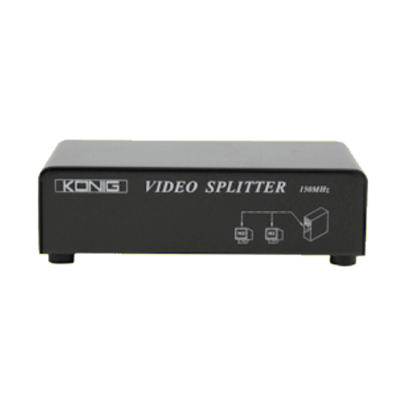 König CMP-SWITCH91 2-poorts VGA-splitter (tot 1600x1200 resolutie)