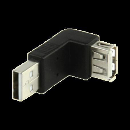 Valueline CMP-USBADAP10 Haakse 90-graden USB2.0 A-A adapter