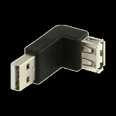 Valueline CMP-USBADAP11 Haakse 270-graden USB2.0 A-A adapter