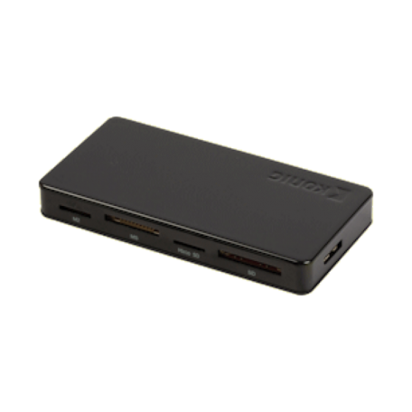 König CSU3ACR200BL All-in-One USB3.0 geheugenkaartlezer