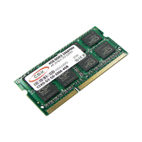 CompuStocx CSXO-D3-SO-1333-4GB 4GB SO-DIMM (DDR3 1333MHz, PC3-10600, CL9)
