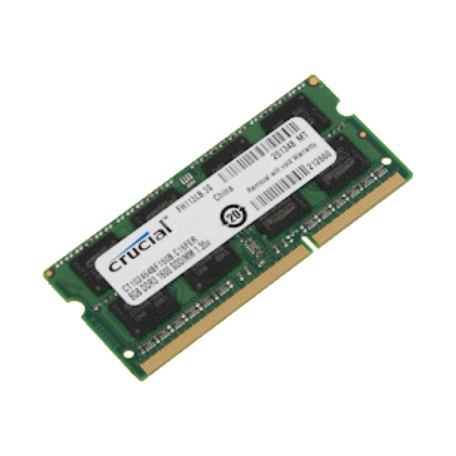 Crucial Technology CT102464BF160B 8GB SO-DIMM (DDR3 1600MHz, PC3-12800, CL11)