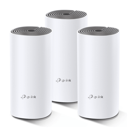 TP-Link Deco E4 (3-pack) AC1200 Whole Home Mesh Wifi-systeem