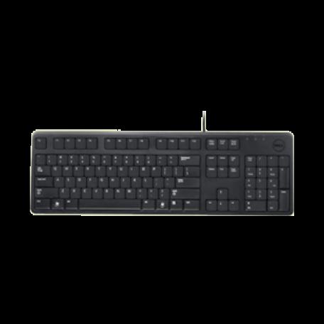 Dell KB212-B USB-toetsenbord (BE/AZERTY-indeling, Zwart)