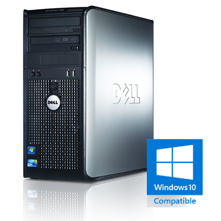 Dell Optiplex 780 SMT Core2Duo 3.0GHz 4GB/160GB/DVDRW Gbit/8x USB2.0/W7P