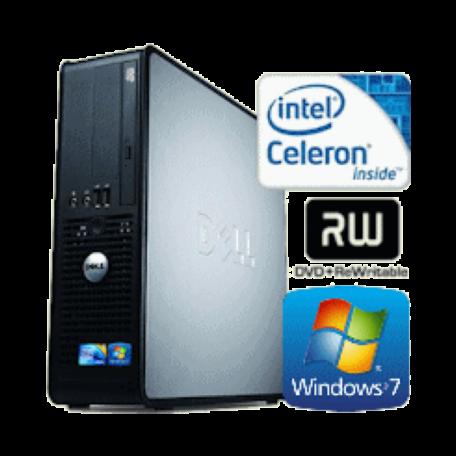 Dell Optiplex 380 SFF Cel 450 2.2GHz 4GB/250GB/DVDRW Gbit/8x USB2.0/W7P
