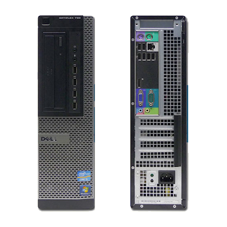 Dell Optiplex 790 DT G630 2.7GHz 4GB/250GB/DVDRW Gbit/10xUSB2.0/7HP