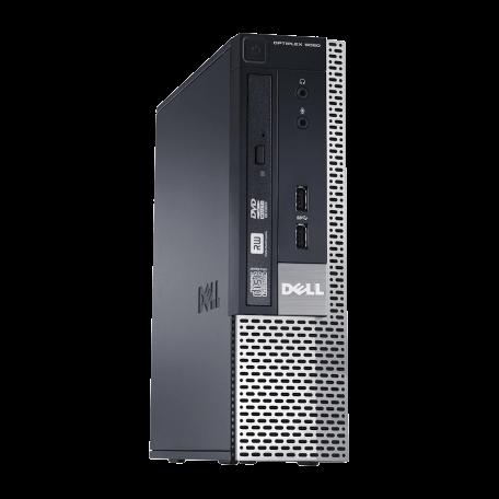 Dell Optiplex 9020 USFF Core i5-4670S 3.1GHz, 8GB DDR3/120GB SSD, DVD, 4xUSB3.0, 2xDP+VGA, W10 Pro