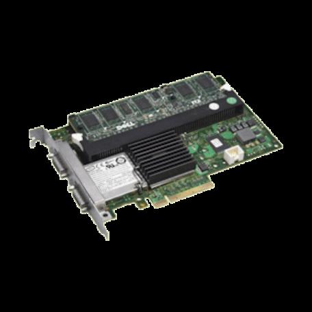 Dell 0J155F PERC 6/E SAS-/SATA-controller PCIe x8 + 512MB BBC