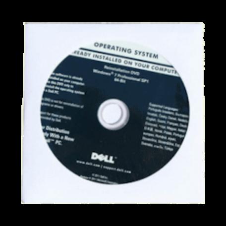 Microsoft/Dell 0KJX6D Windows 7 Professional 64-bit SP1 recovery DVD