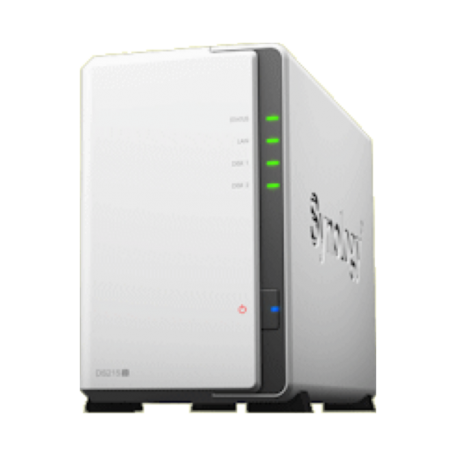 Synology DS215j DiskStation (Max. 16TB, Gbit LAN + USB3.0)