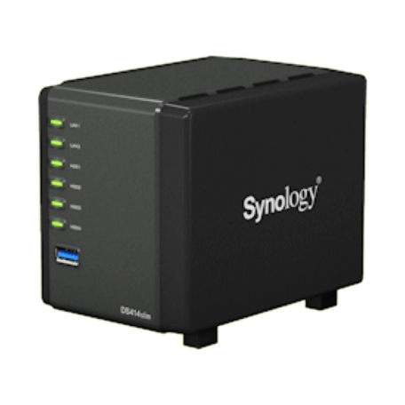 Synology DS414slim DiskStation (Max. 8TB, Gbit LAN + USB3.0)
