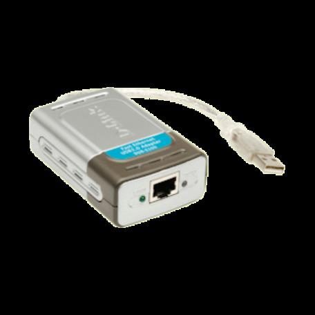 D-Link DUB-E100 USB2.0 naar 10/100Mb Fast-Ethernet adapter